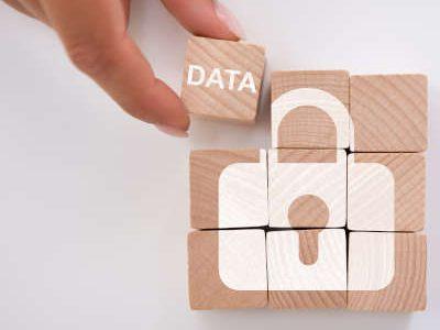 Person Holding Data Block