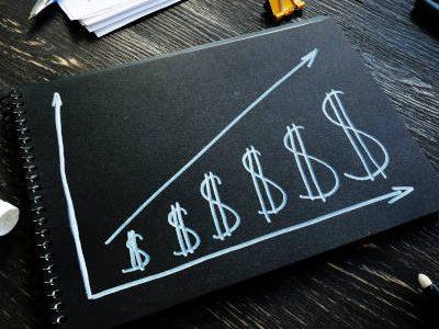 Increase revenue and profit concept