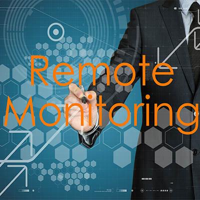 remotely monitoring